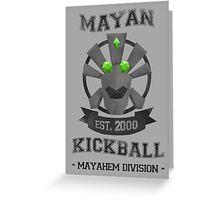 Banjo Tooie - Mayan Kickball Greeting Card