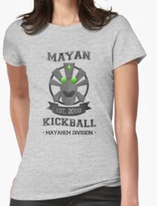 Banjo Tooie - Mayan Kickball Womens Fitted T-Shirt