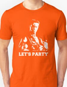 Schwarzenegger Commando Let's Party T-Shirt
