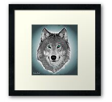 Wise Wolf Justin Beck Picture 2015089 Framed Print