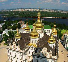 Ukraine Kievo-Pecherskaya Lavra 02 by Yuriy Shevchuk