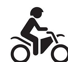 motorcylce man by Finzy
