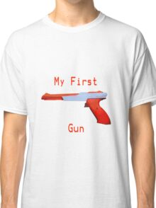 My First Gun Classic T-Shirt