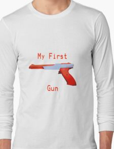 My First Gun Long Sleeve T-Shirt