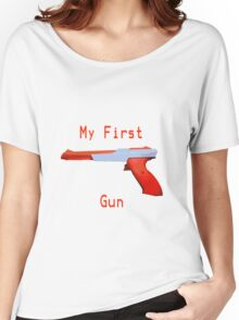 My First Gun Women's Relaxed Fit T-Shirt