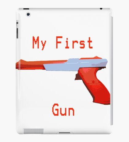 My First Gun iPad Case/Skin