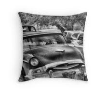 Old Timer 2 ~ BoneYard Series  Throw Pillow
