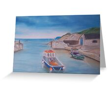 Ballintoy Harbour, Northern Ireland Greeting Card