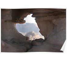 Rock Window Poster