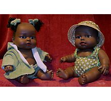 African French Dolls Photographic Print