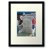 Haunted Mansion 2- Magic Kingdom Framed Print