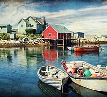 Peggy's Cove, Nova Scotia by Amanda White
