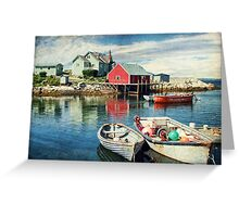 Peggy's Cove, Nova Scotia Greeting Card