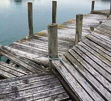 The jetty by Anne Scantlebury