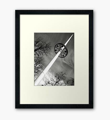 sKy sWoRd Framed Print