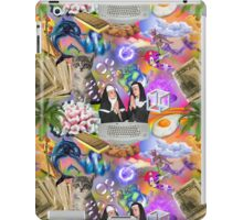 Sisters Paris & Nicole, Money, Fame, Power, a Dolphin, a Mermaid and a Cat iPad Case/Skin