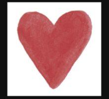 Red Hearts Kids Tee