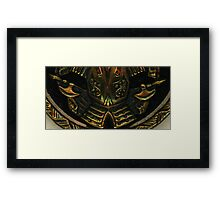Antique Coin Study  Framed Print