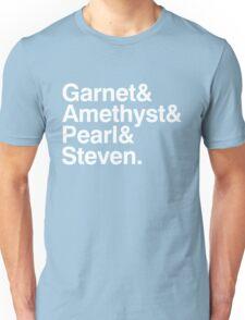 The Crystal Gems - White Unisex T-Shirt