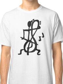 Treble Cello Player Classic T-Shirt