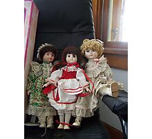 old dolls! Photographic Print