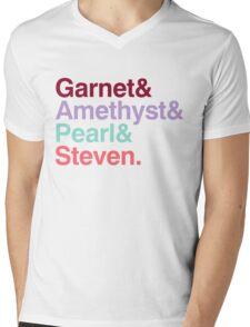 The Crystal Gems - Gem Colors Mens V-Neck T-Shirt