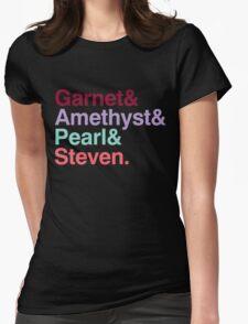 The Crystal Gems - Gem Colors T-Shirt