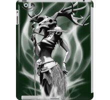 The necromancer(gray scale) iPad Case/Skin