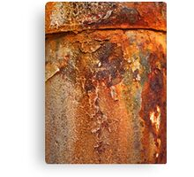rusty, crusty and falling to bits Canvas Print