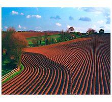 Ridges Photographic Print
