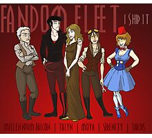 Fandom Fleet (print) Photographic Print