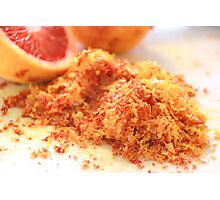 Citrus Blood Oranges Photographic Print