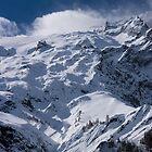 Glacier du Rateau, The French Alps by Elizabeth Turner
