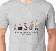 Evolution of Glee    Kurt Unisex T-Shirt
