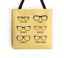 Funny Glasses Tote Bag