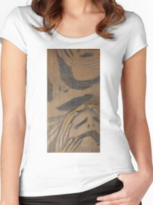 Man Of Sorrows I - Top Women's Fitted Scoop T-Shirt