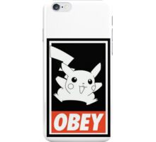 Pikachu Obey ! iPhone Case/Skin