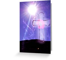 High Up On the Mountain Greeting Card