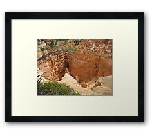 Ancient Castles in the Air Framed Print