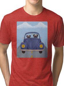 Pugs in a Bug Tri-blend T-Shirt