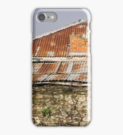 rusty roof iPhone Case/Skin