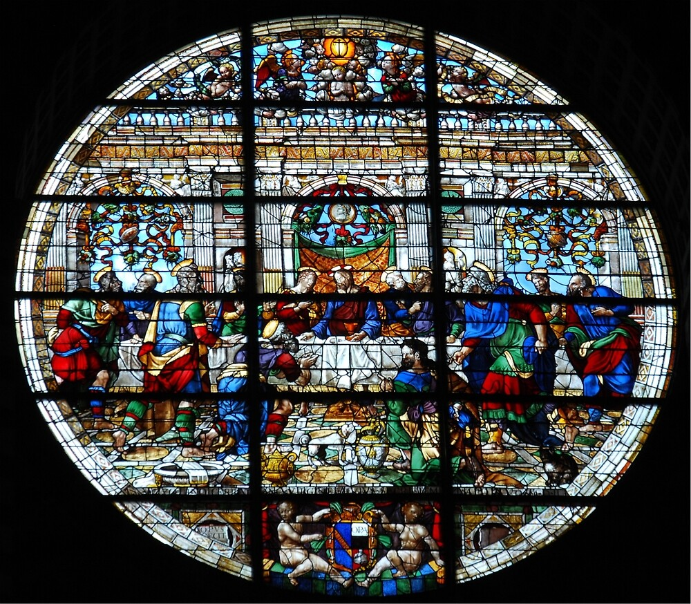Duomo Front Window-Siena, Italy by Deborah Downes