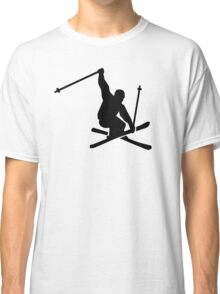 Skiing jump Classic T-Shirt