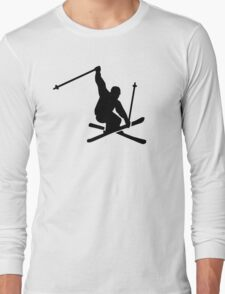 Skiing jump Long Sleeve T-Shirt