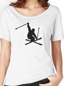 Skiing jump Women's Relaxed Fit T-Shirt