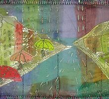 Rain soaked  streets by Liz Plummer