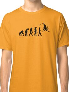 Evolution skiing Classic T-Shirt