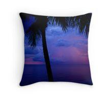 Sunset Storm Throw Pillow