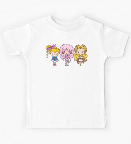 Lil' CutiEs - Eighties Ladies Kids Tee