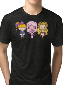 Lil' CutiEs - Eighties Ladies Tri-blend T-Shirt